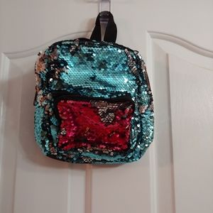 Sequin Mini Backpack - Multi colors